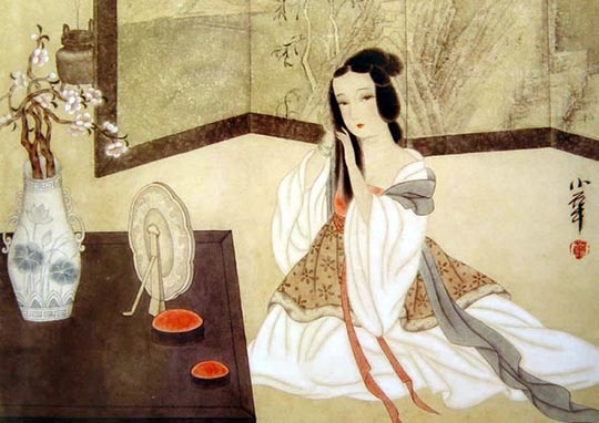 那么古代的女子是怎么装扮自己的面庞呢?