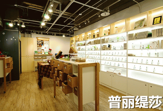 小型的美容化妆品店如何装修设计