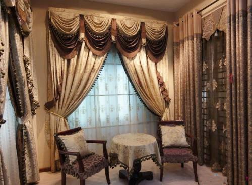 美容院的窗帘如何装饰的更好看