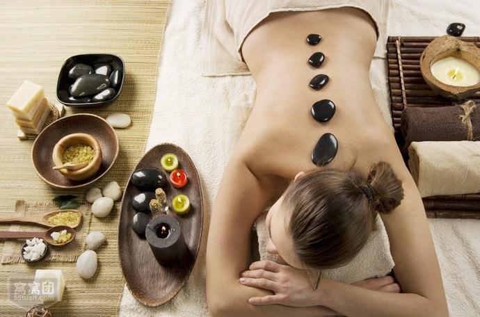 美容院热石spa的功效和步骤