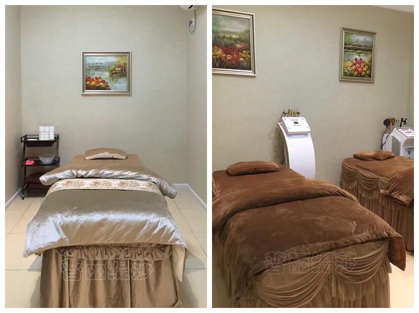 绵阳美容院加盟店,装修风格偏向于欧式.