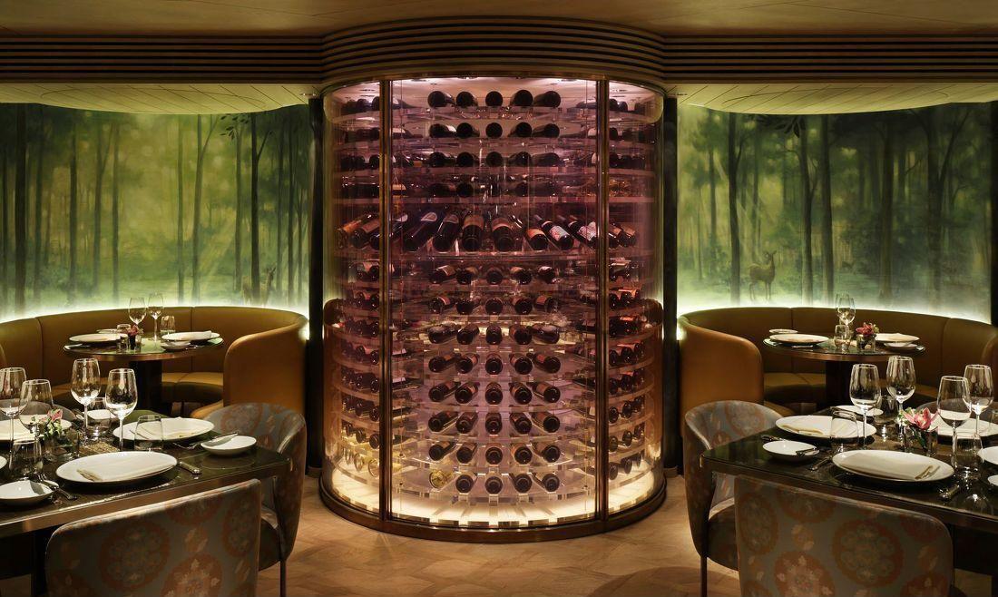 因此酒柜的样式一般也都是欧式的风格.