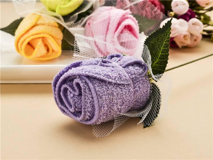 美容院毛巾叠花样方法 详细图解